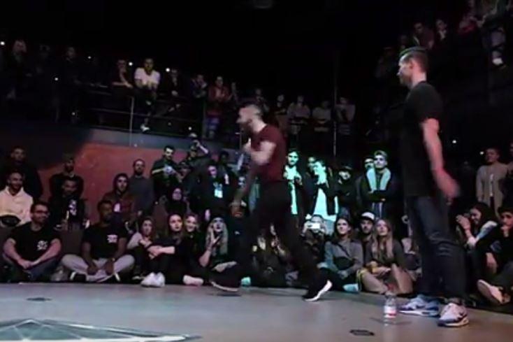 B-Boy Battle B-Boy Daniel vs B-Boy Onel